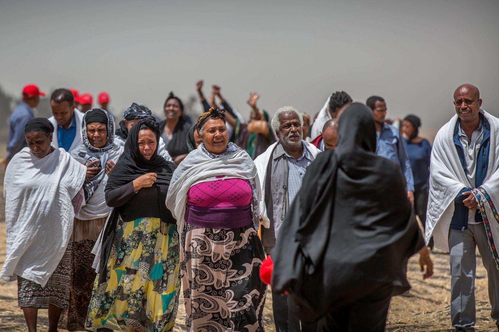 Äthiopien / Trauer