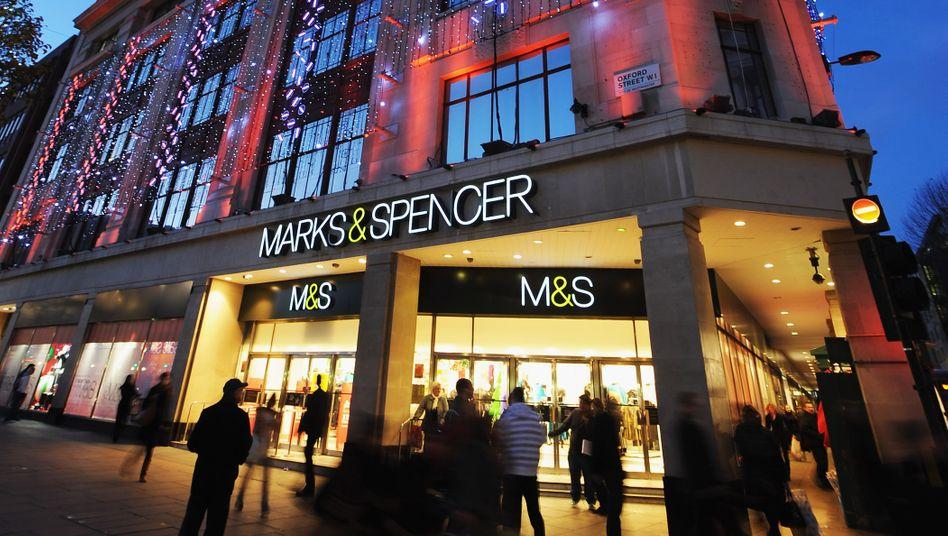 Marks and Spencer in London: Erneute Expedition nach Deutschland - diesmal allerdings nur digital