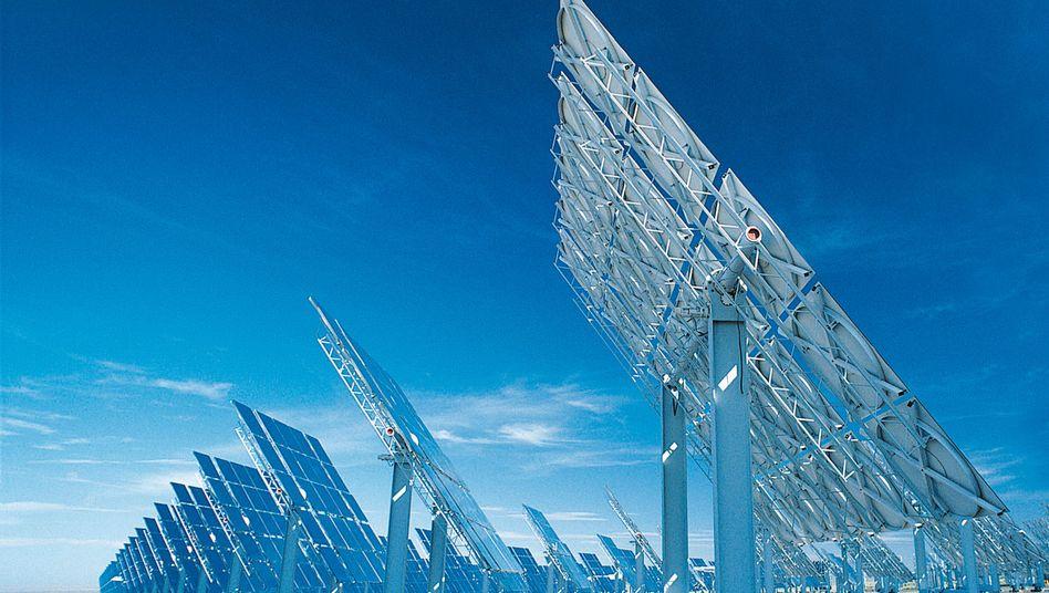 Solartechnologie von ABB: Die Gesellschafter beraten kommende Woche über die Zukunft von Desertec