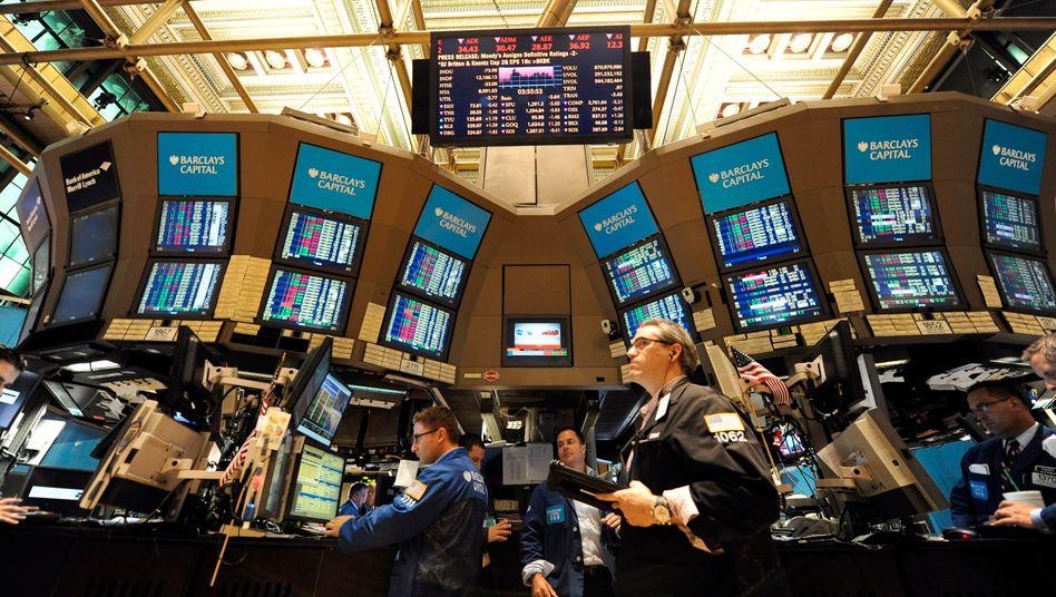 Börse in New York: Derzeit im Minusrausch