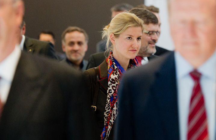 Auch Julia Kuhn-Piech zählt zur neuen Generation im Porsche-Clan