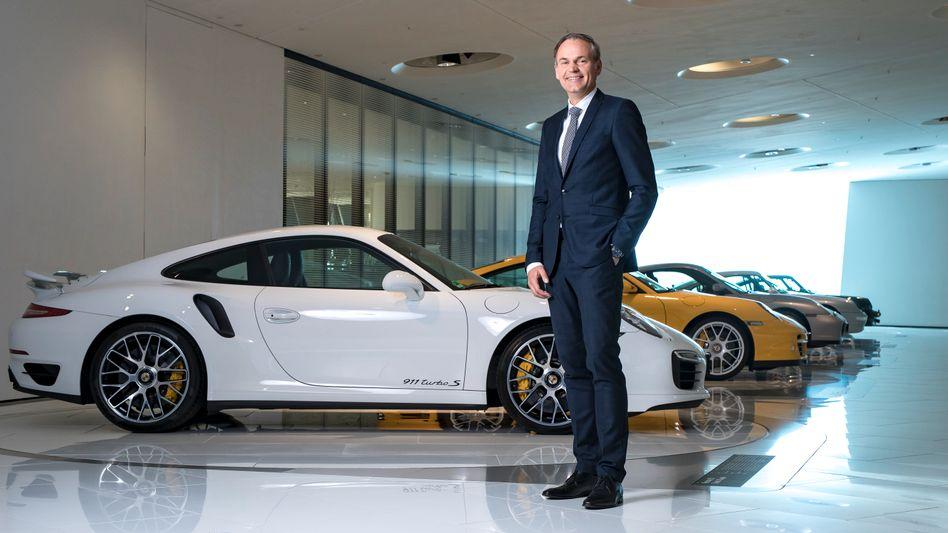 """Porsche-Chef Blume: """"Das Ergebnis absichern"""""""