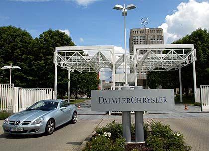 DaimlerChrysler: Auch aus der Zentrale in Möhringen hat sich der Konzern zurückgezogen