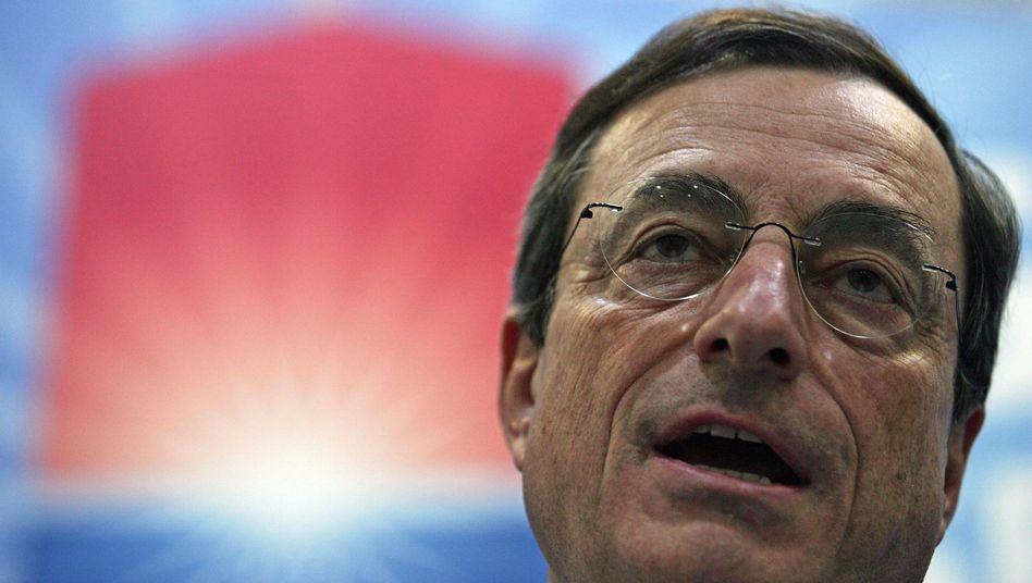 Steht vor einer Herkules-Aufgabe: der künftige EZB-Präsident Draghi