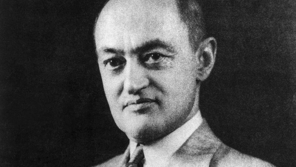 Der Ökonom Joseph Schumpeter