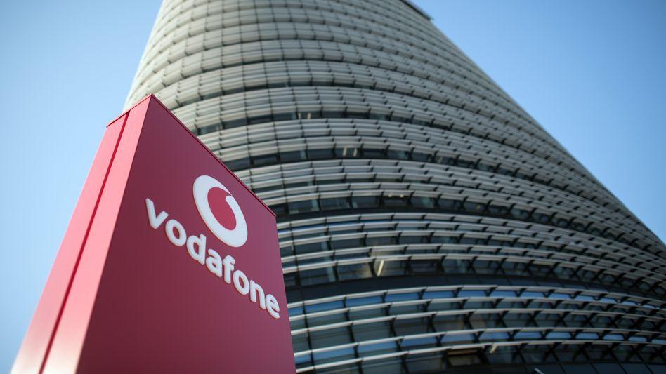 Die Vodafone-Deutschland-Zentrale in Düsseldorf: