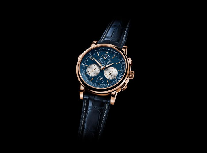 In Genf dabei: ein Chronograf von A. Lange & Söhne