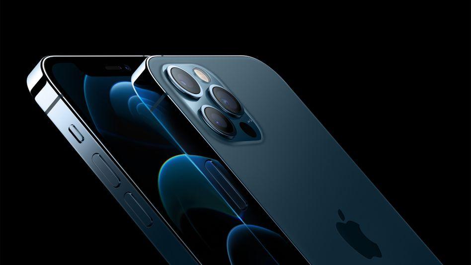 Verkaufsschlager: Apple hatte zum Weihnachtsgeschäft das neue iPhone 12 auf den Markt gebracht - allein der iPhone-Umsatz stieg um 17 Prozent