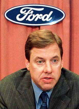 """Benzin im Blut? Konzernchef William """"Bill"""" Clay Ford jr."""