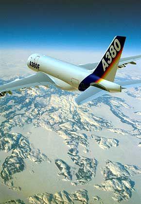 Für 207 Millionen Euro zu haben: Für den A380 Airbus liegen bereits mehr als 150 Bestellungen vor