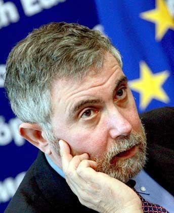 Ernste Miene: Doch die Prognosen Krugmans ist gar nicht so düster