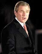 """""""Eine nasse Nudel"""": George W. Bush erntet von Aktienexperten Kritik für seine Reformpläne"""