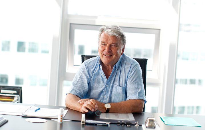 Hans-Peter Haselsteiner, Industrieller und langjähriger Chef des Baukonzerns Strabag