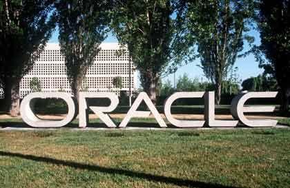 Blühendes Geschäft: Firmensitz von Oracle in Kalifornien