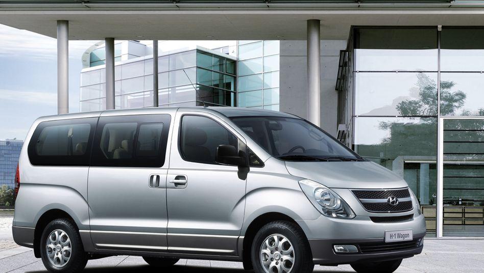 Konkurrenz für VW und Fiat: Der koreanische Autohersteller Hyundai drängt mit aller Macht in den Markt für leichte Nutzfahrzeuge