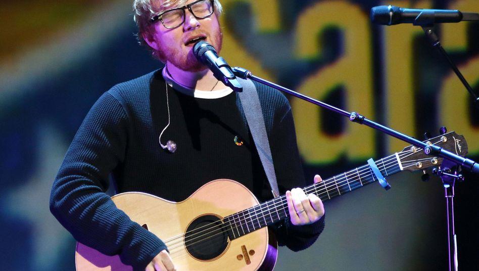 Bei Warner unter-Vertrag: Der britische Sänger Ed Sheeran