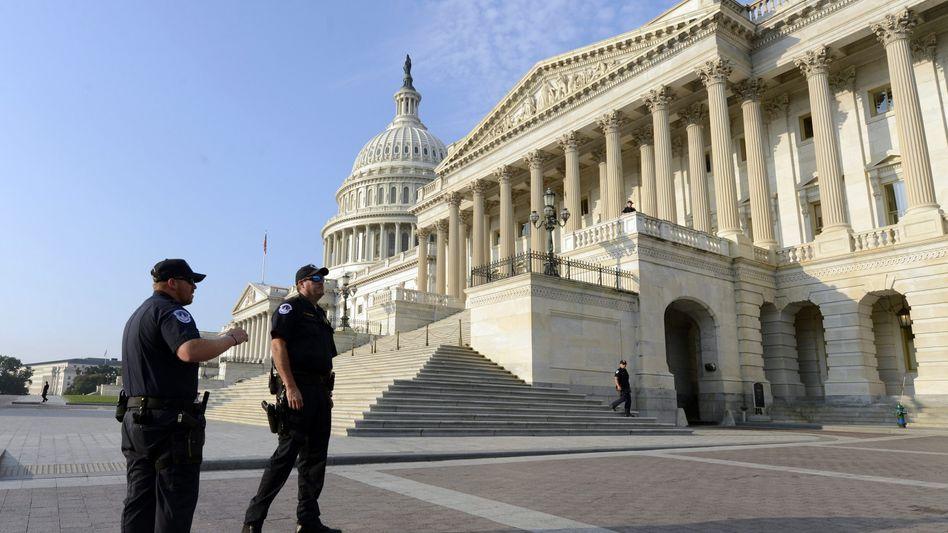 Blockiert: Nichts scheint mehr zu gehen in Amerikas Hauptstadt Washington