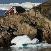 Eisfjord bei Ilulissat: Grönland gehört seit 1721 zu Dänemark