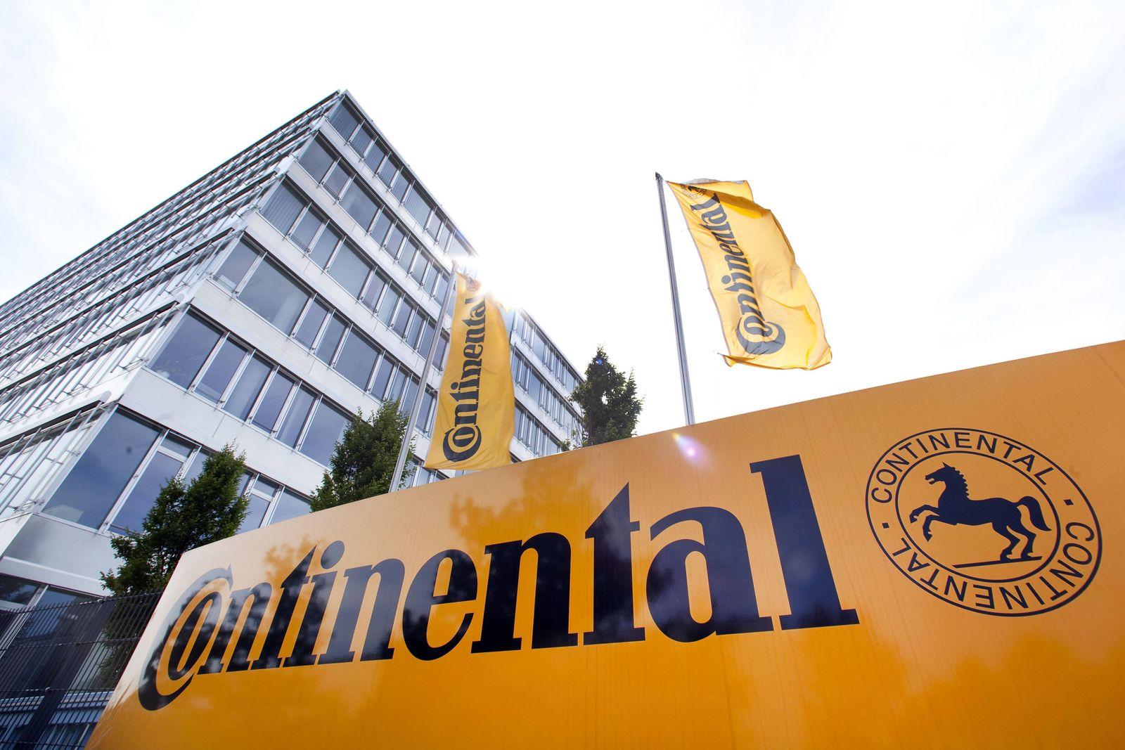 Zentrale der Continental Automotive GmbH in Regensburg, Bayern, Deutschland, Europa iblski01205038