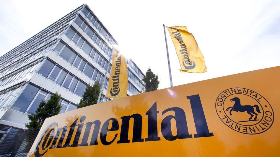 Continental-Werk in Regensburg