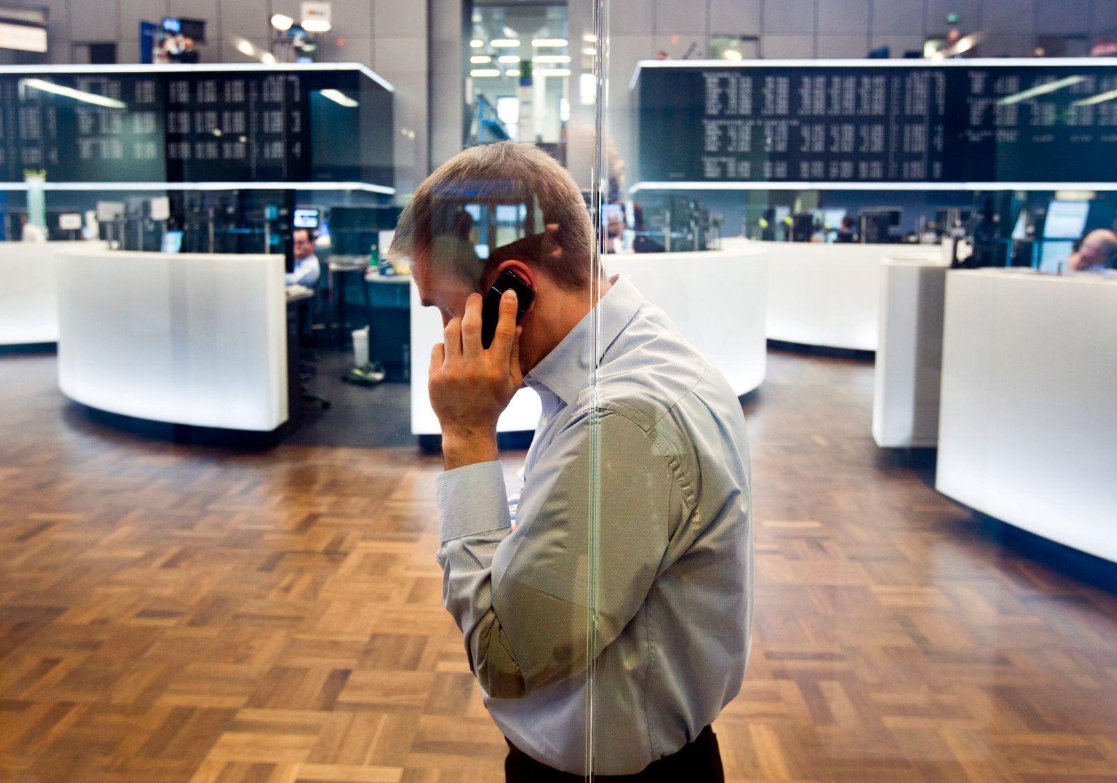 Börse / Frankfurt / Händler / DAX