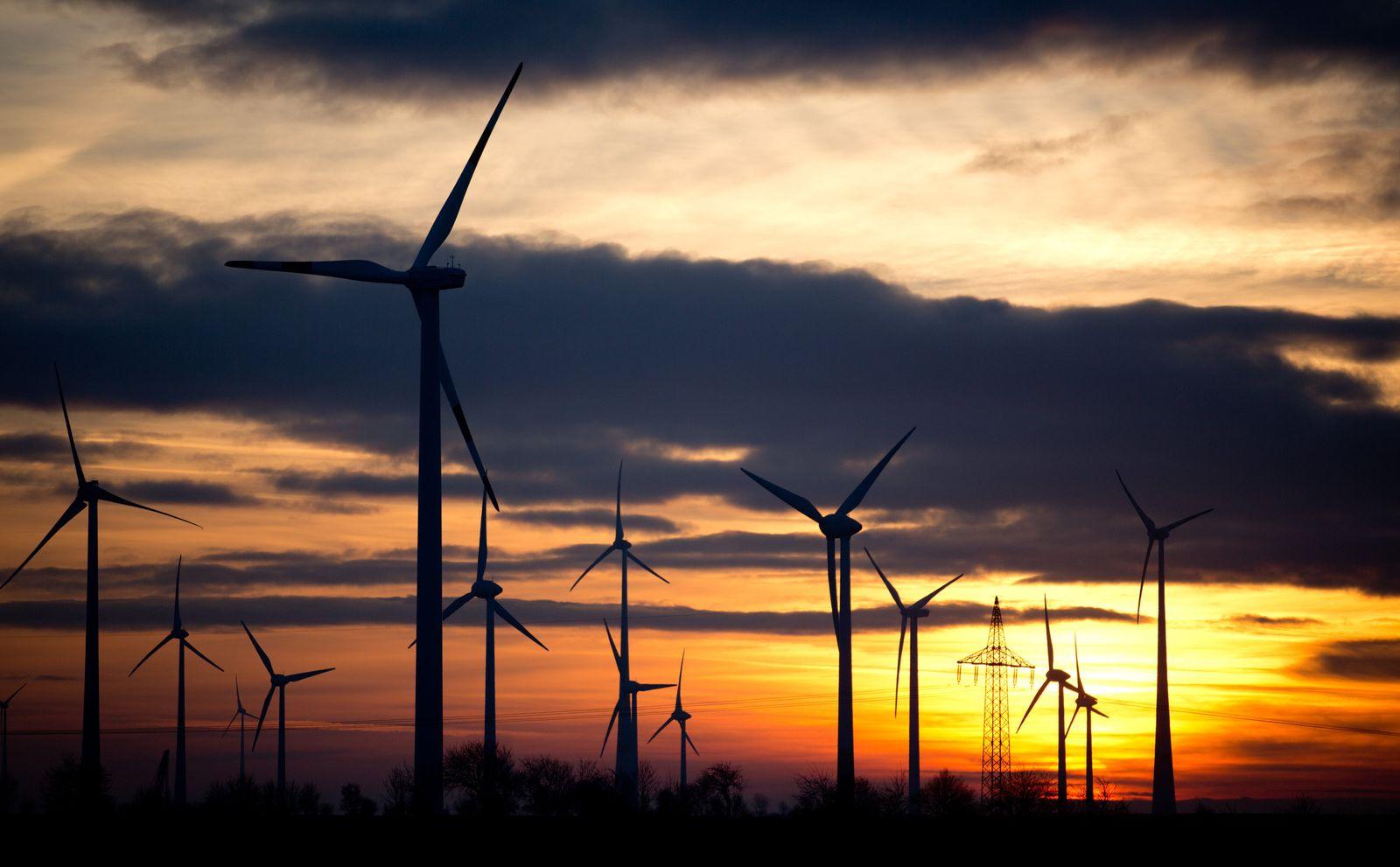 Energie / Windenergie / Windräder / Windrad
