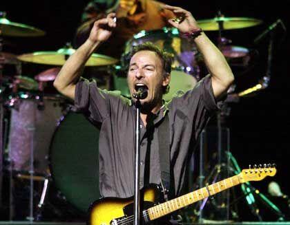 44 Millionen Dollar für John Kerry: Altrocker Bruce Springsteen geht mit Kollegen für Kerry auf Tour