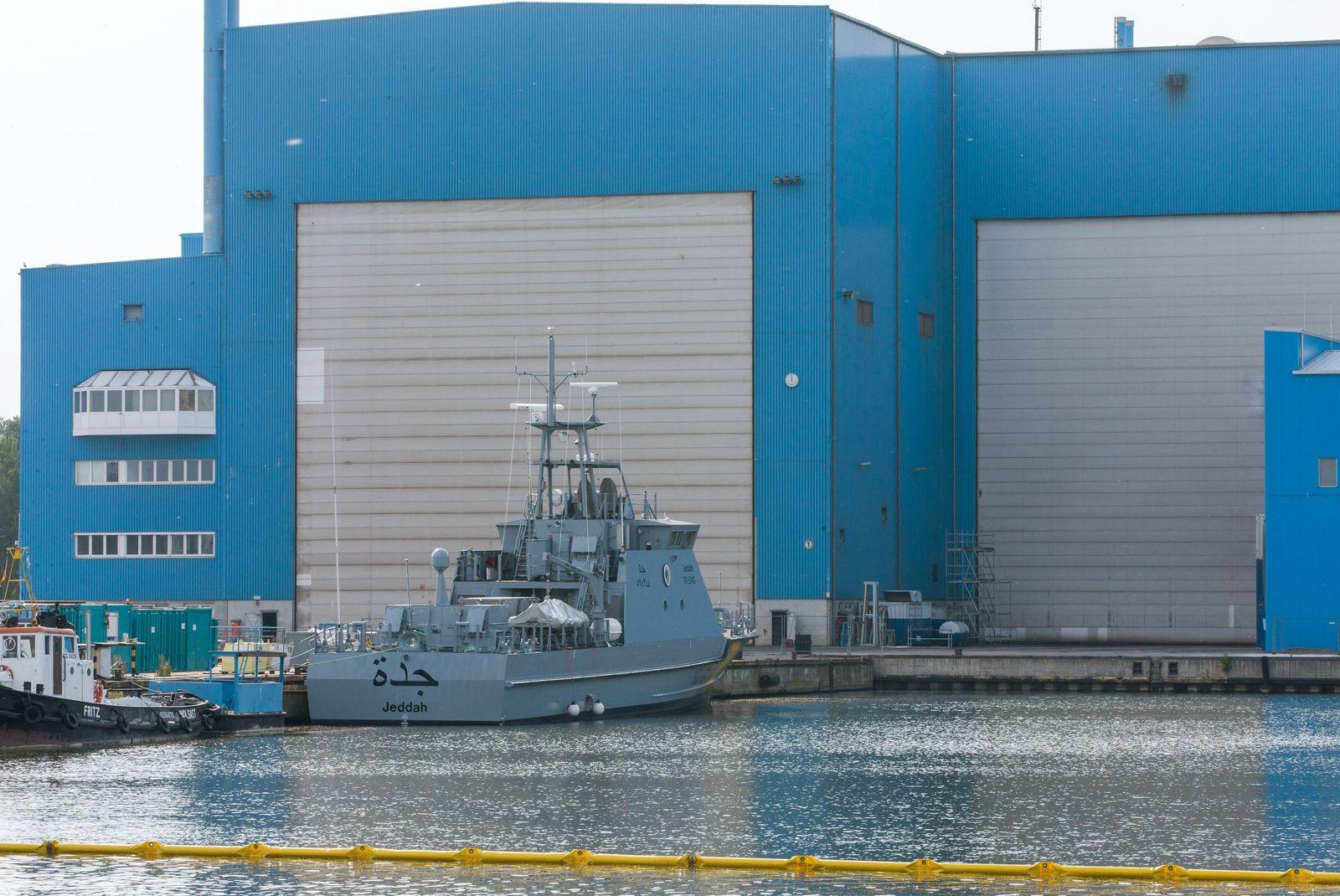 Landtag debattiert über Wolgaster Werft