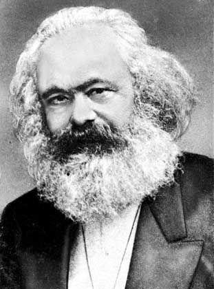 Die damalige Zukunft messerscharf analysiert: Karl Marx, Autor des Kommunistischen Manifests, starb am 14. März 1883