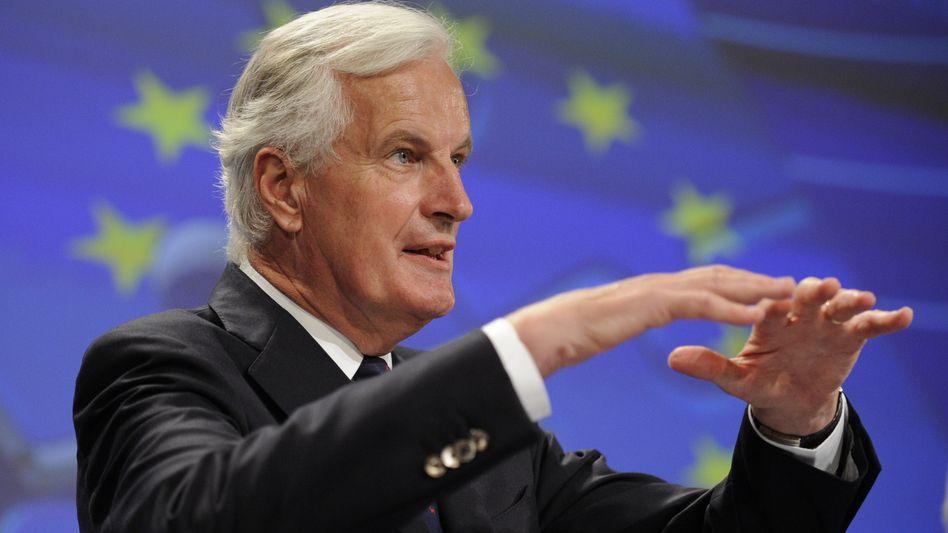 """Michel Barnier: Wenn Banken Kapital fehlt, könne """"eine nationale oder europäische Finanzierung notwendig werden"""""""