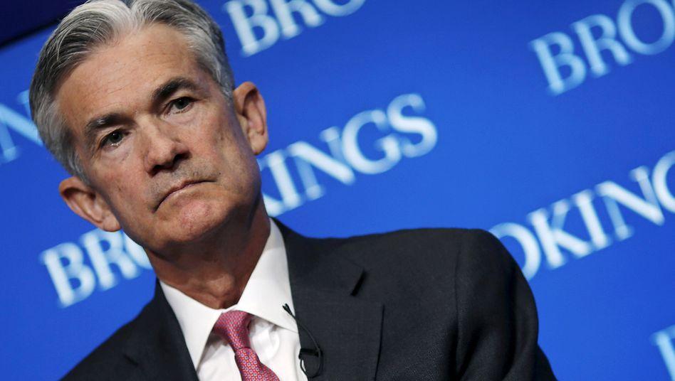 Neuer US-Notenbank-Chef Jerome Powell: Zinserhöhungen werden die Blase am Rentenmarkt nicht platzen lassen - und die Aktienkurse nicht fallen lassen.