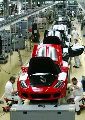 Porsche-Mitarbeiter (in Leipzig): Eine Stimme zählt 30 mal so viel wie die eines VW-Kollegen