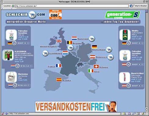 Schlecker-Website: Erfolgreich auch im E-Commerce?