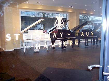 Galerie des guten Klangs: Das Steinway-Haus in Hamburg
