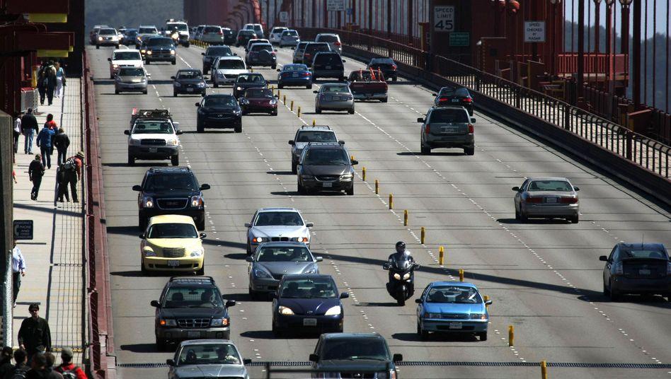 Golden Gate Bridge: In Kalifornien sollen ab 2035 keine neuen Pkw und Lastwagen mit Benzin- oder Dieselmotor verkauften werden dürfen
