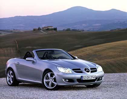 Mercedes SLK: Unter den Cabrios vor Peugeot-Modellen