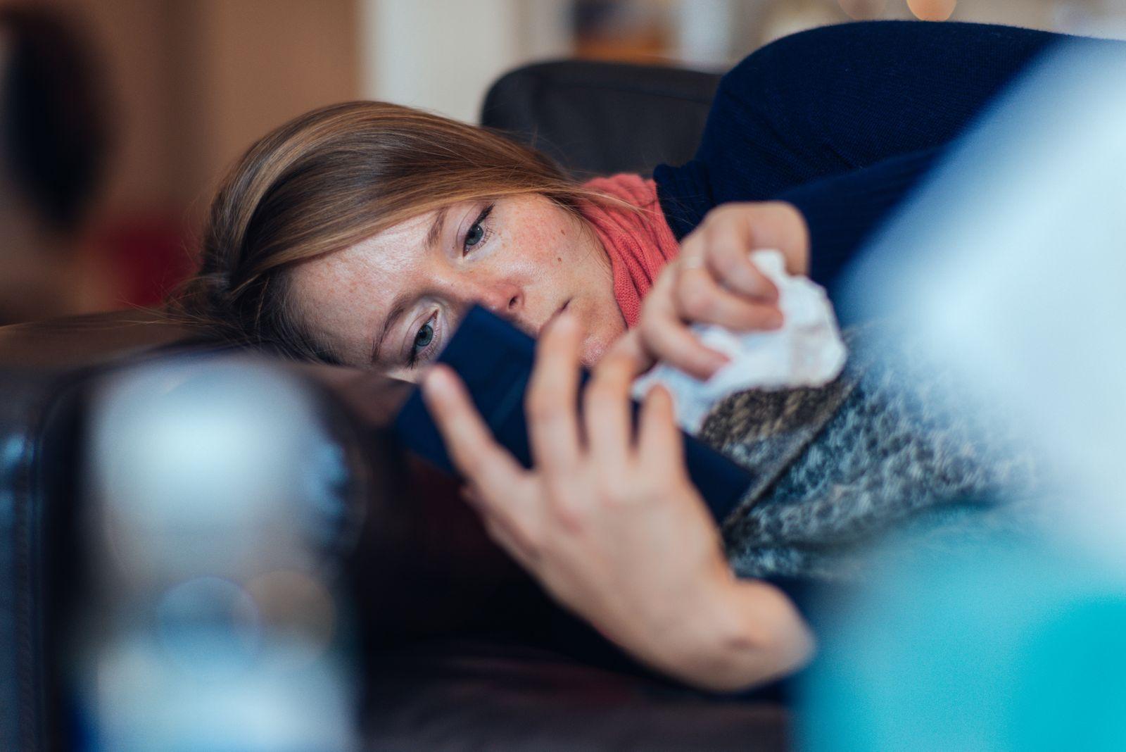 EINMALIGE VERWENDUNG Krankschreibung per Telefon