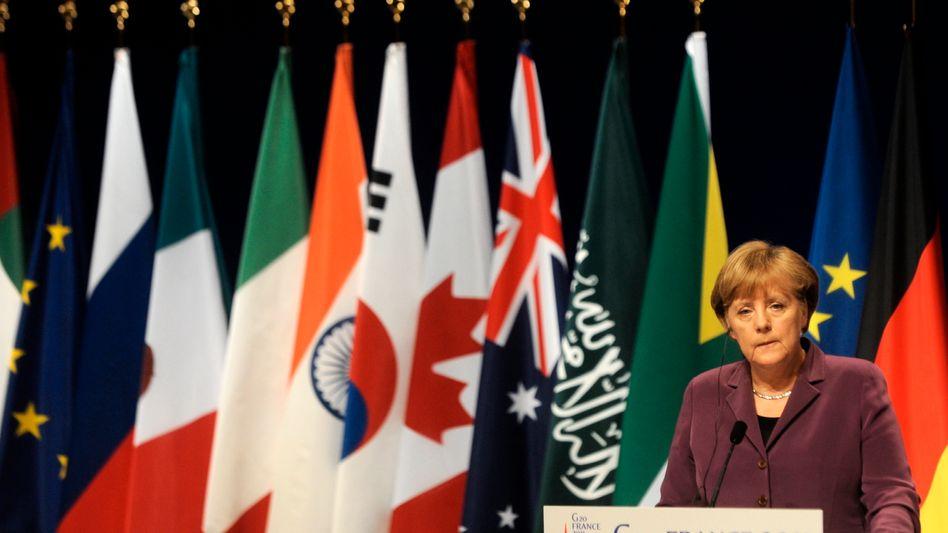 Deutsche Führung: Nicht überall stößt dieses Vorgehen in der Euro-Krise auf Gegenliebe