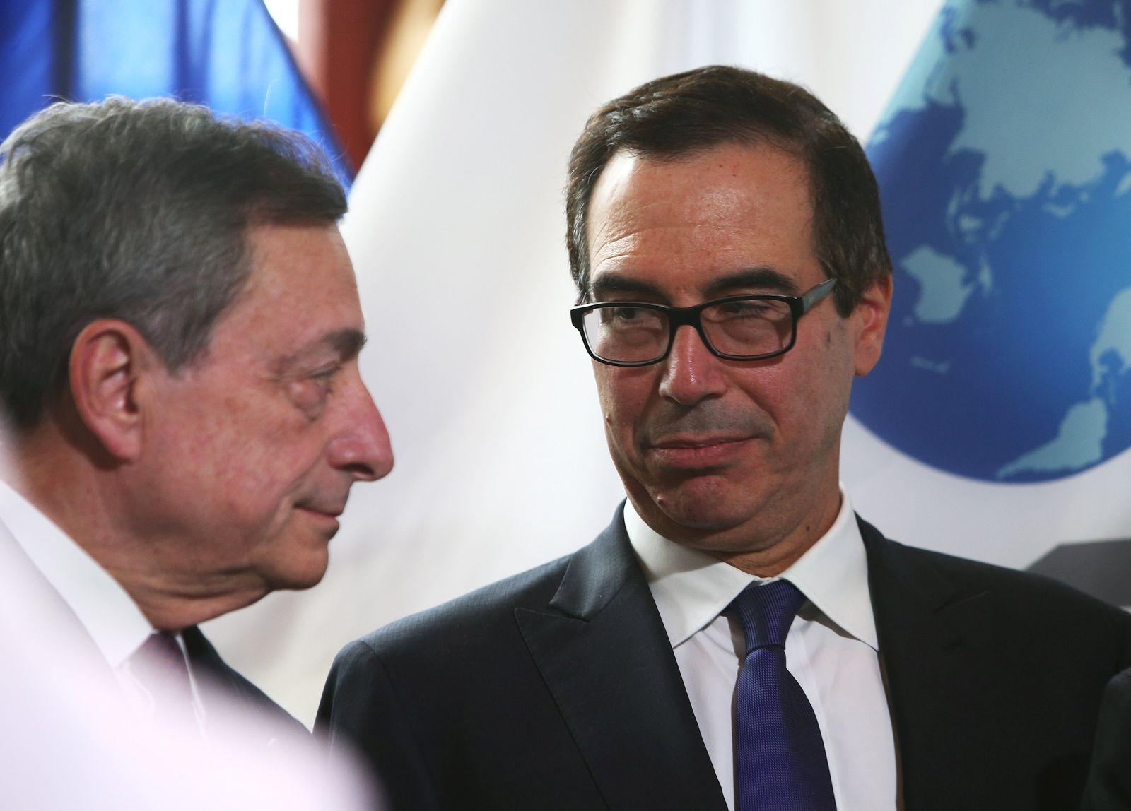 Draghi Mnuchin
