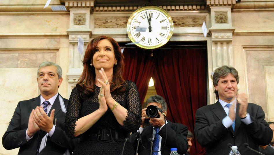 Kurz vor Zwölf: Argentiniens Präsidentin Cristina Fernandez de Kirchner