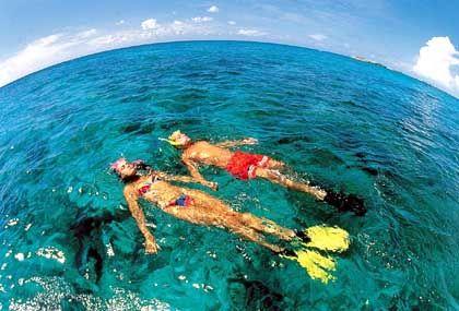 Klares Wasser und klare Steuergesetze (nämlich keine): Auf den Bahamas lässt es sich aushalten
