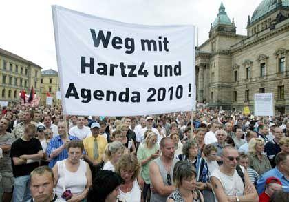 Die Angst geht um: Tausende demonstrieren in Leipzig und anderswo gegen die einschneidenden Arbeitsmarktreformen