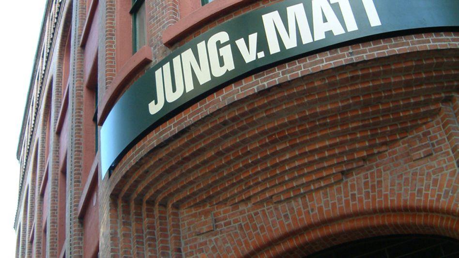 Hamburger Werber Jung von Matt: Vorsprung vor Ogilvy & Mather und Serviceplan