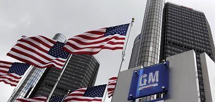 GM-Zentrale Detroit: Der Konzernvorstand soll angeblich den Finanzinvestor RHJ als Opel-Käufer favorisieren. Die Bundesregierung will das verhindern.