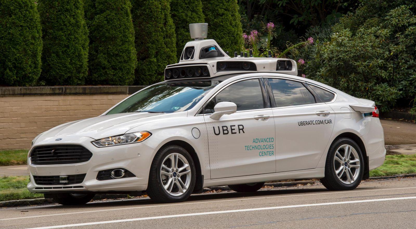 Uber / selbstfahrendes Auto