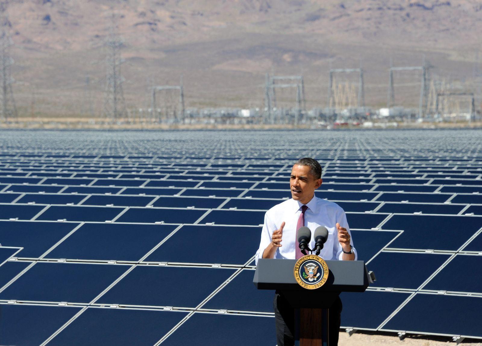 Obama / Energie / Energiepolitik / Solar-Energie