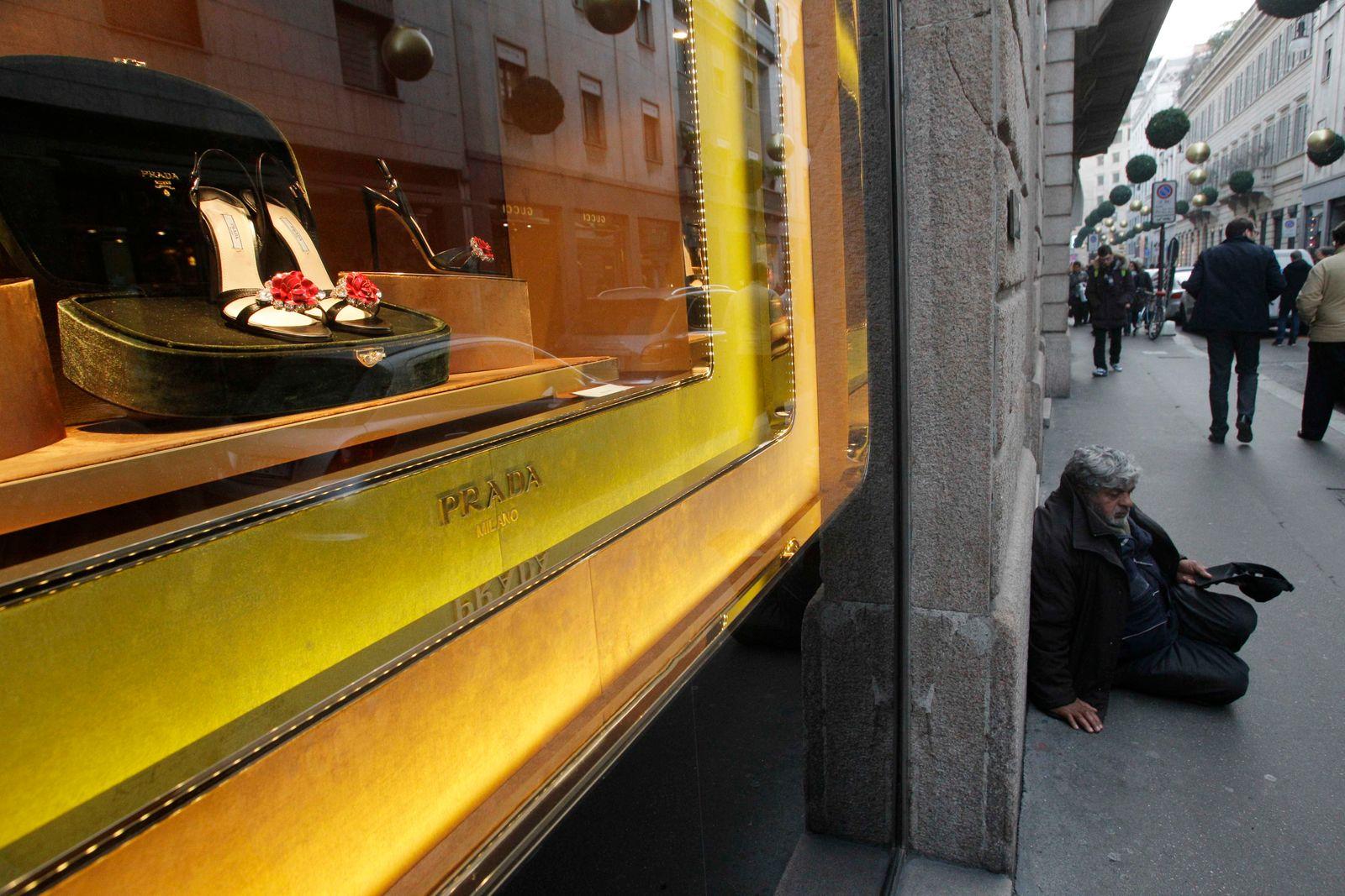Bettler / Mailand / Prada