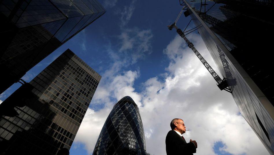 Banken in London spekulieren offenbar auf einen geregelten Brexit.