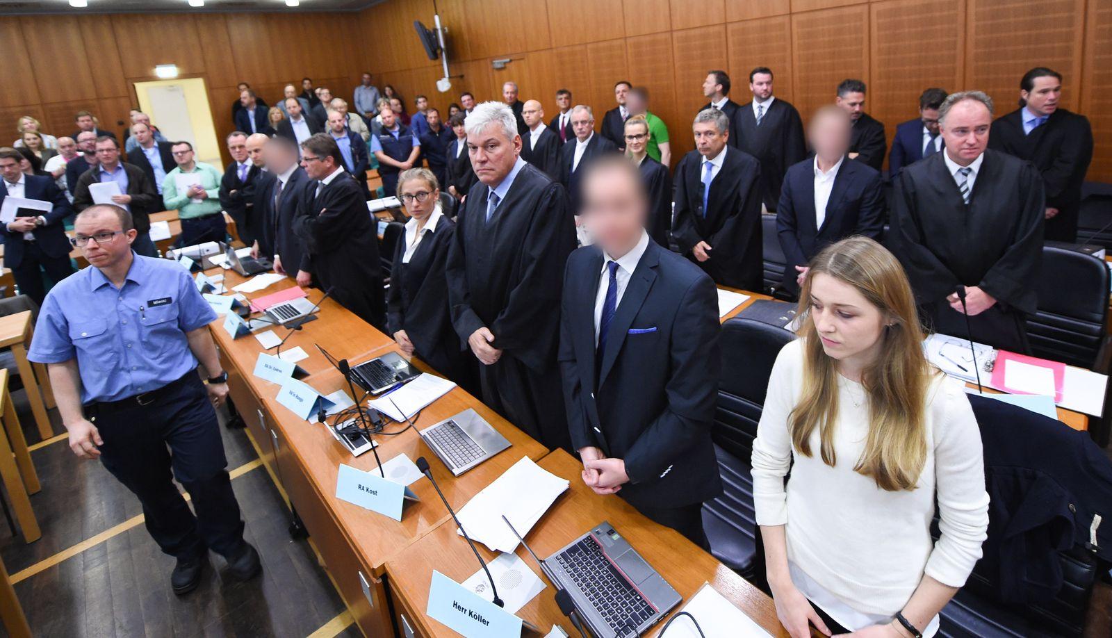 S&K-Betrugsprozess in Frankfurt