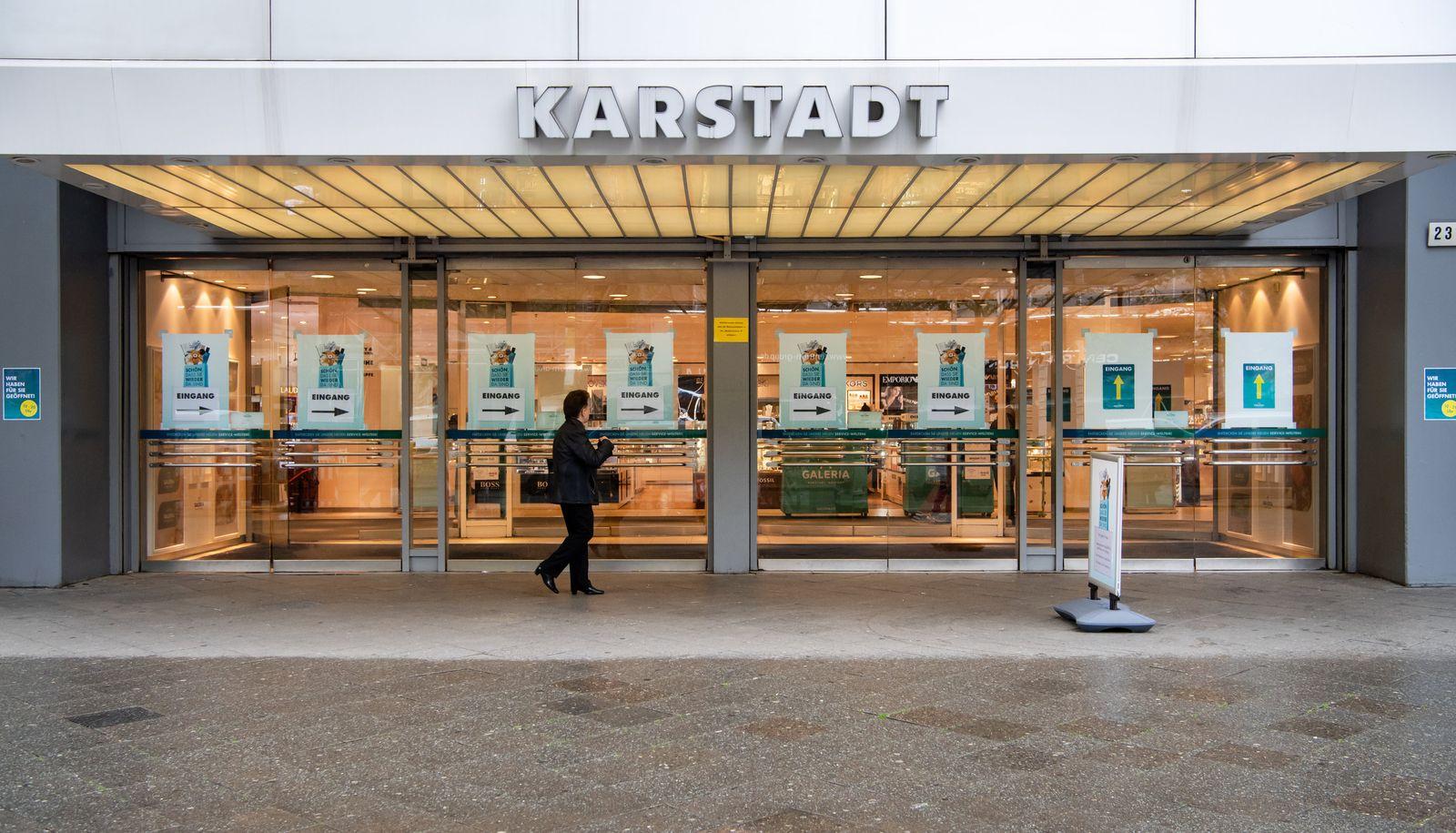 Corona - Kaufhäuser in Berlin